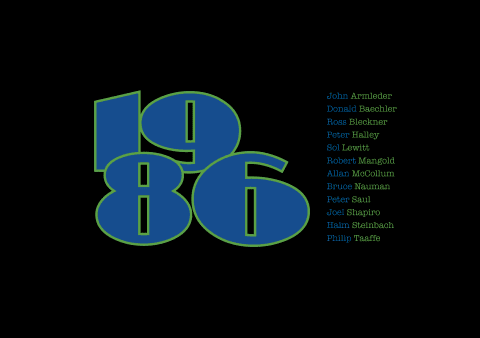 Exhibition: 1986