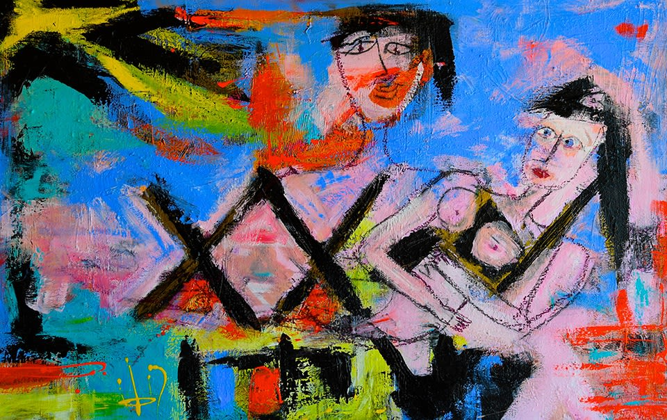 WOMEN, CHAOS and X, Solo Exhibition by Maggi Hodge