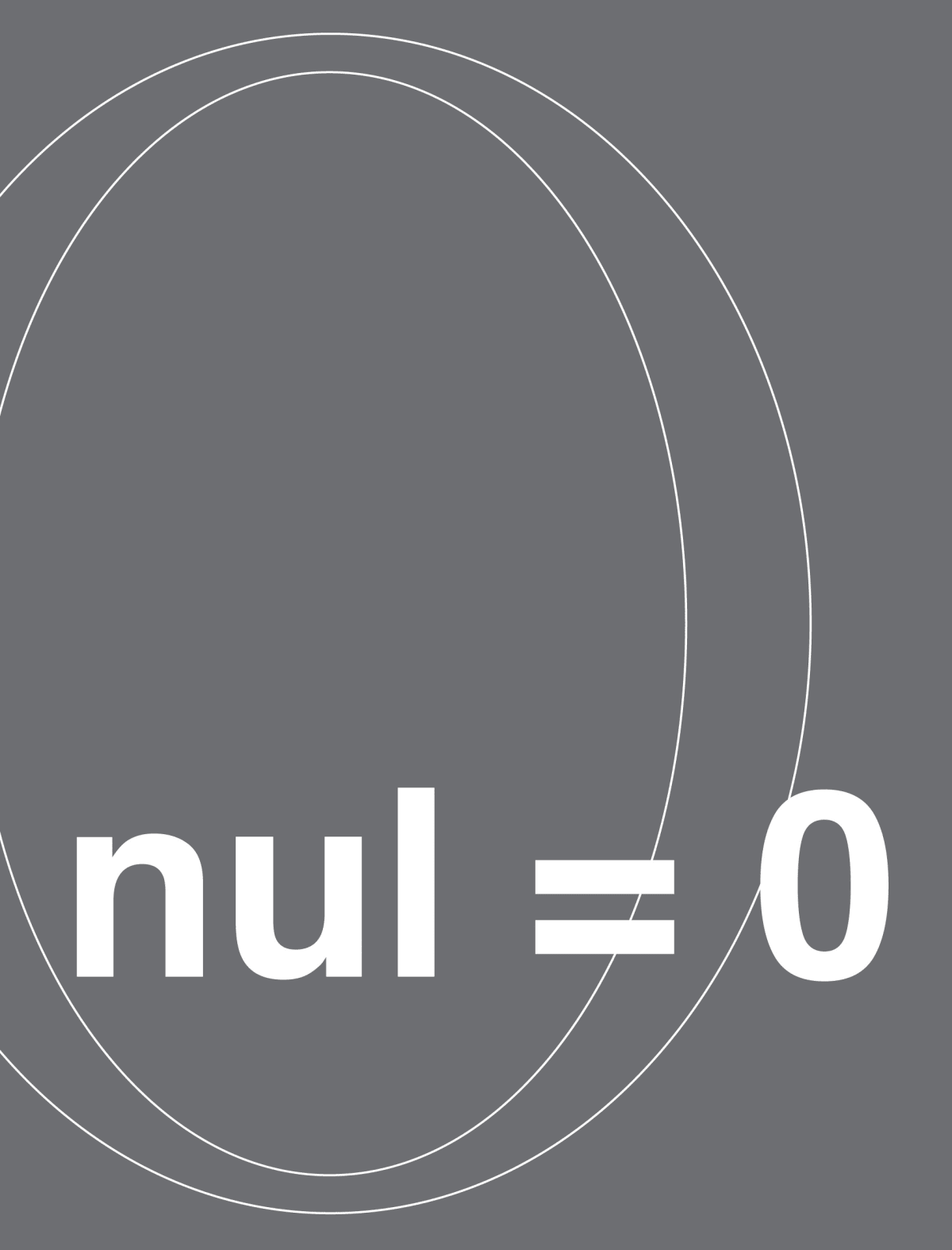 NUL = 0