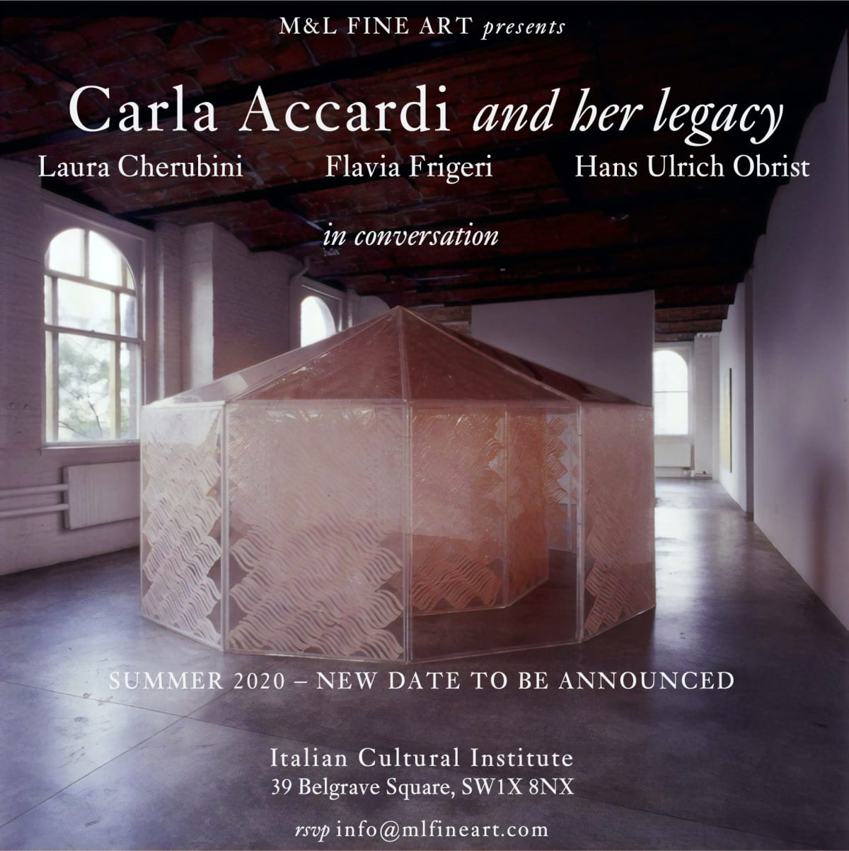 Carla Accardi and her legacy