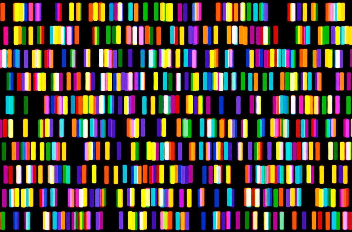 Light Lines No. 2 (Detail)