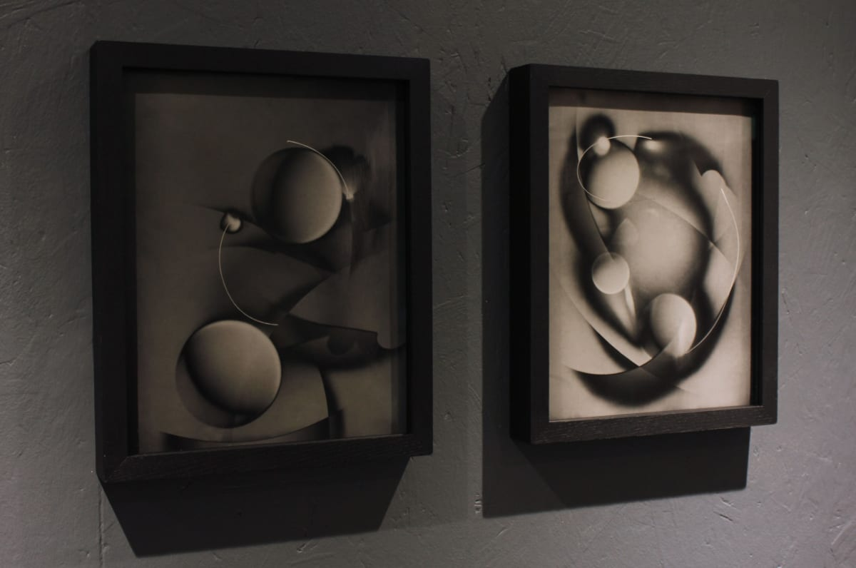 Unique LUMINOGRAMS by Mike Jackson, Gelatin Silver Prints