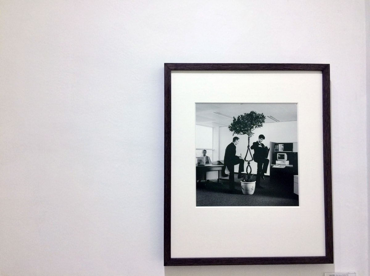 Brian Griffin, OFFICE DANCE, Stockley Park, London, 1986 Gelatin Silver Print, Framed