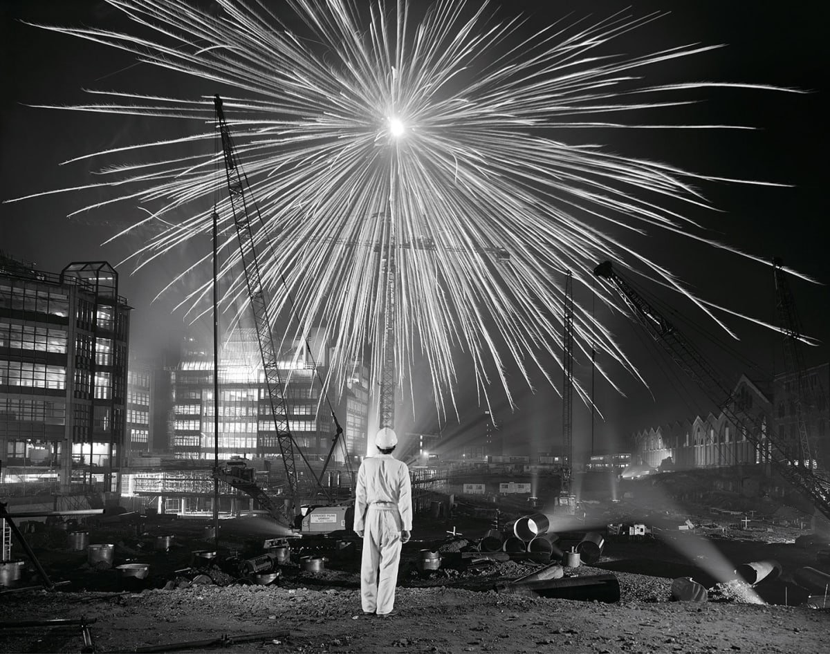 Brian Griffin, Big Bang, Broadgate, City of London, 1986