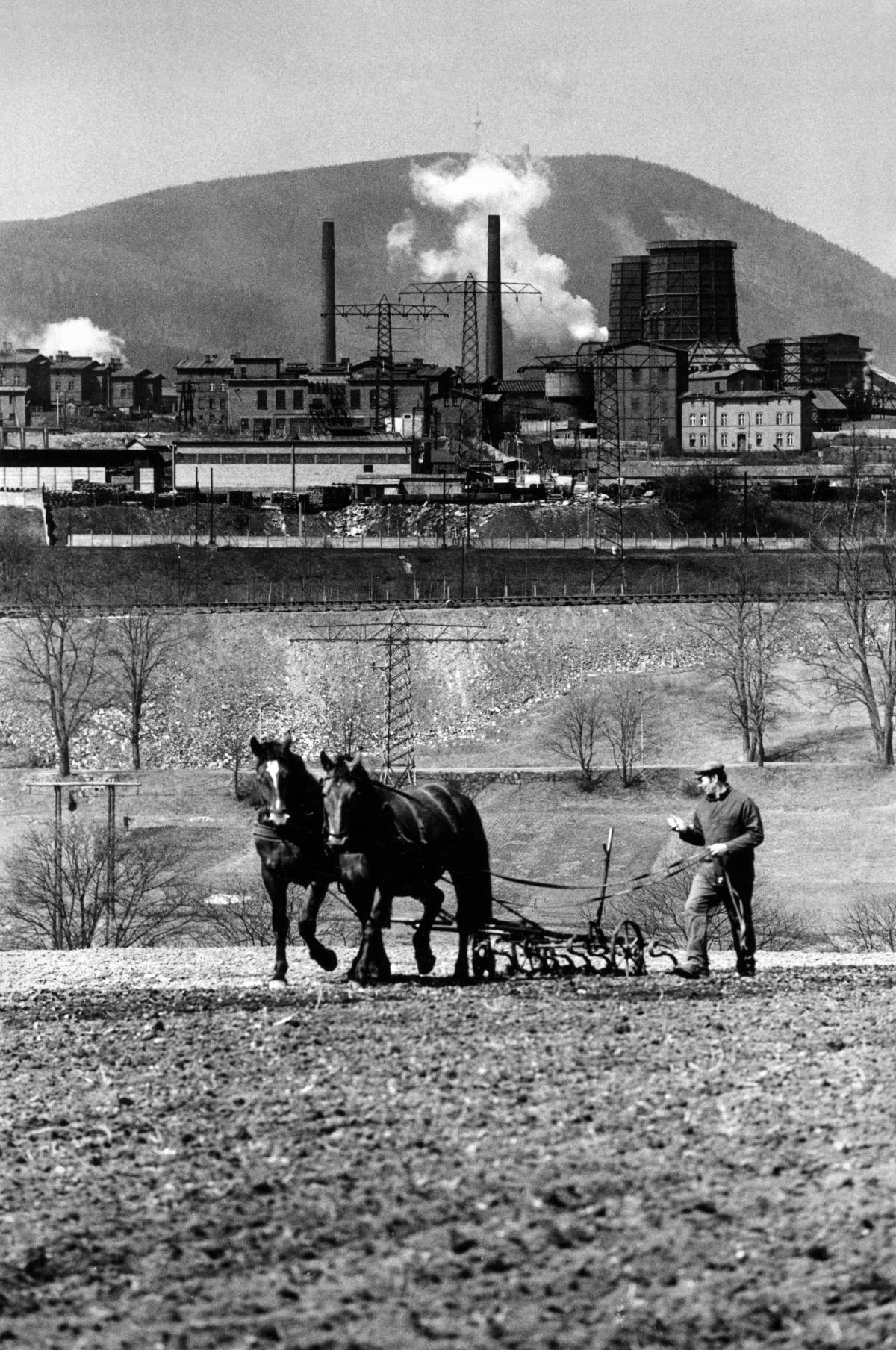 Michal Cala, 'Plowing'/ 'Orka', Walbrzych, 1975