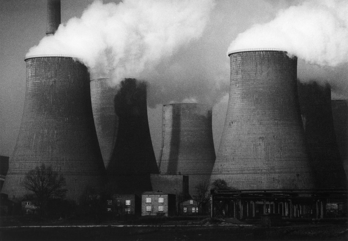 Michal Cala, The Lagisza Power station, 1978