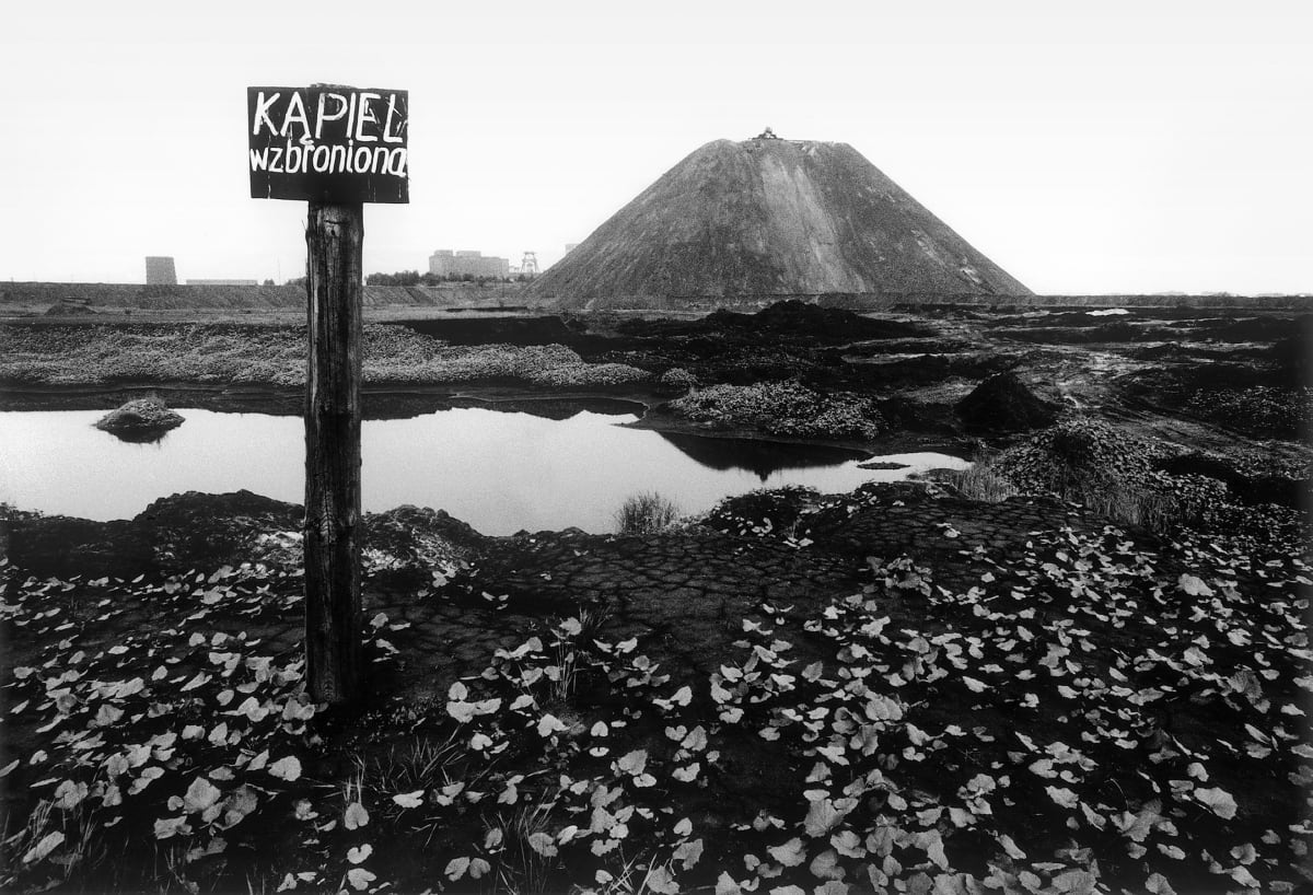 Michal Cala, 'Swimming Prohibited', Slagheaps of the 1st May Coalmine, Wodzislaw Sląski, 1978