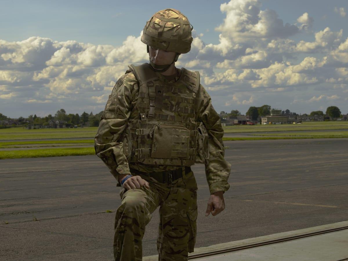 Brian Griffin, Corporal Ashley, RAF Regiment, Benson, England., 2017
