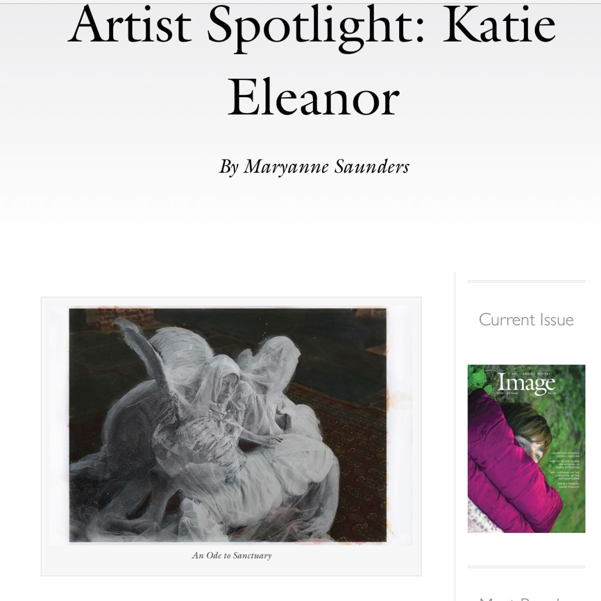 Artist Spotlight: Katie Eleanor