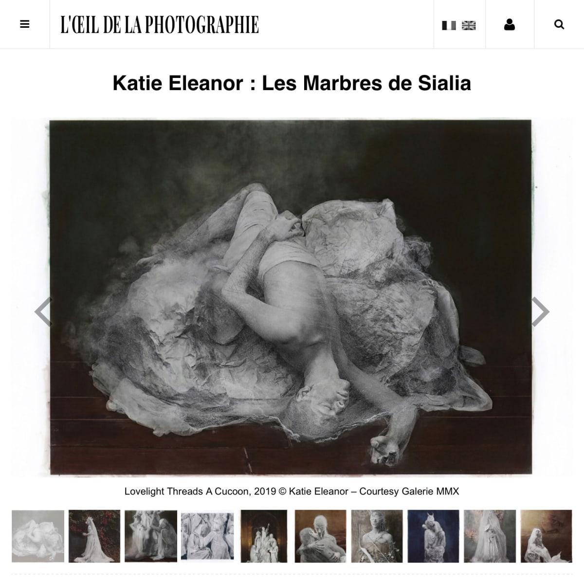 Katie Eleanor: The Sialia Marbles