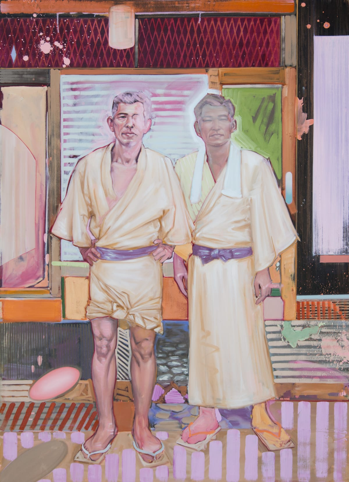Shane Berkery Robes Oil on canvas 140 x 100 cm