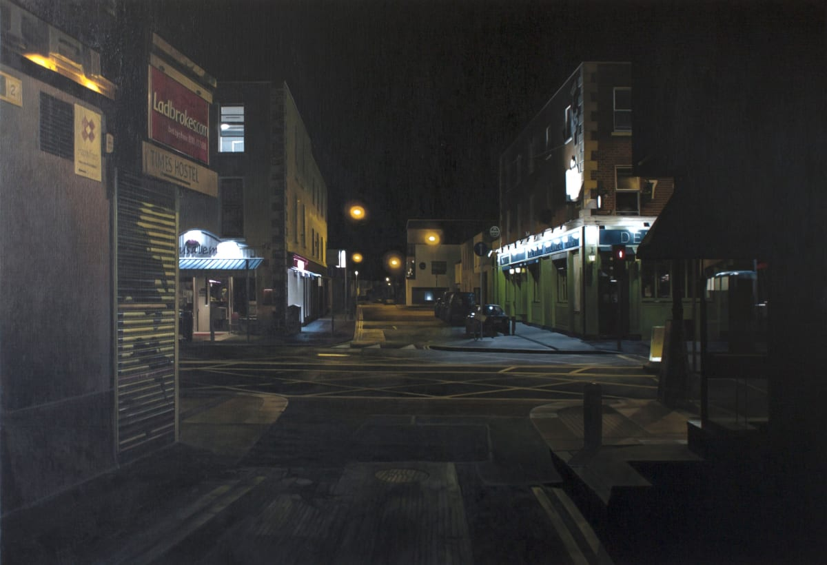 Camden St - west oil on canvas 90 x 143 cm