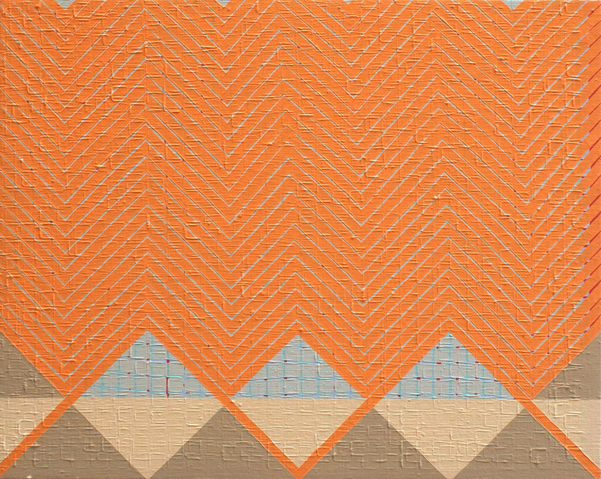 Helen Blake Interface 2 Oil on linen 36 x 45 cm