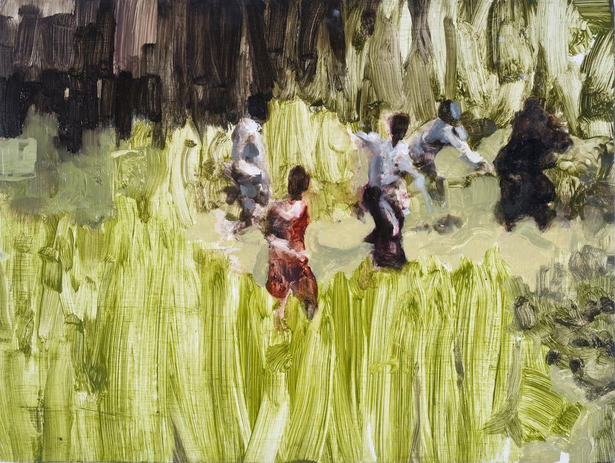 Conor Foy Field 1 Oil on birch panel 46 x 61 cm