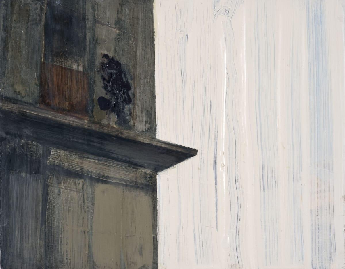 Conor Foy Ledge Oil on birch panel 27 x 36 cm