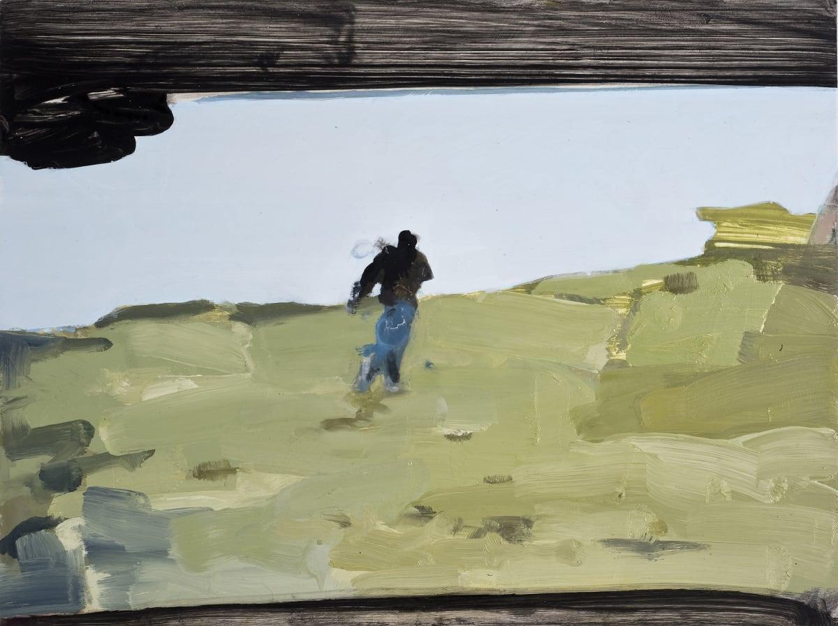 Conor Foy Track 1 Oil on birch panel 46 x 61 cm
