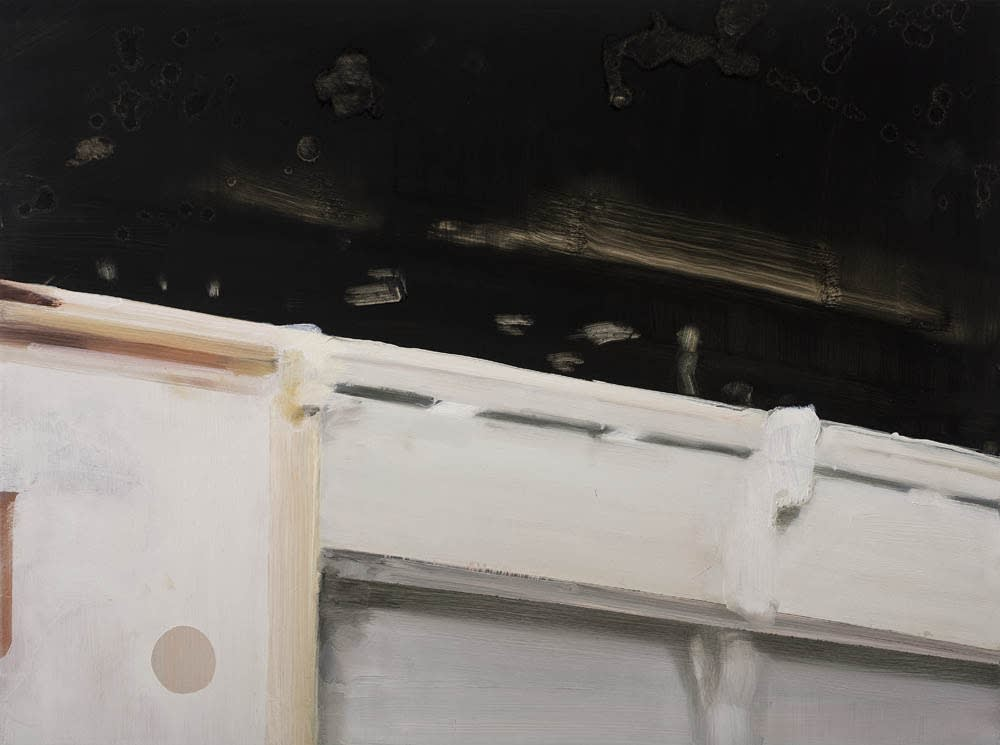 Conor Foy Balcony 1 Oil on board 45 x 60 cm