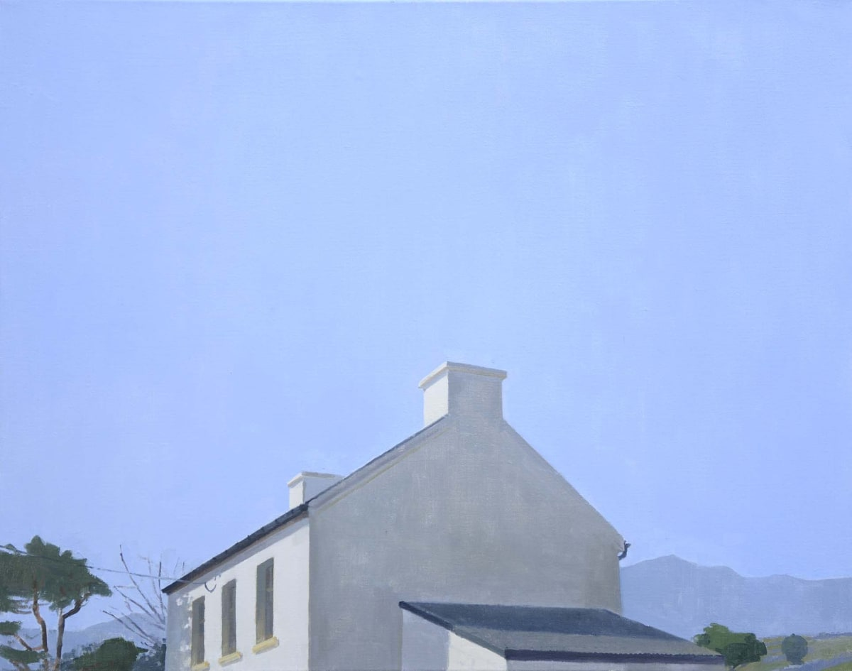 Maeve McCarthy End of house Oil on linen 56 x 71 cm