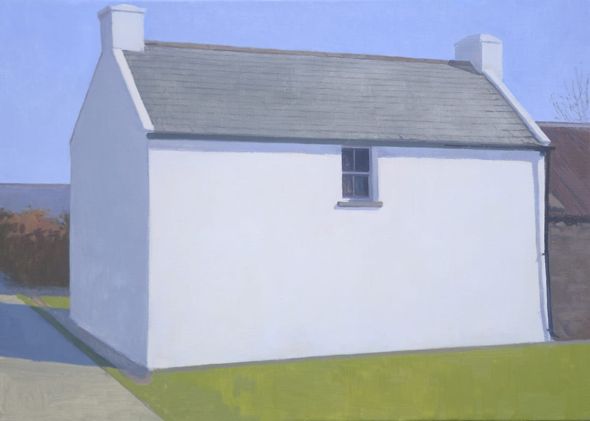 Maeve McCarthy Holiday cottage Oil on linen 50 x 70 cm
