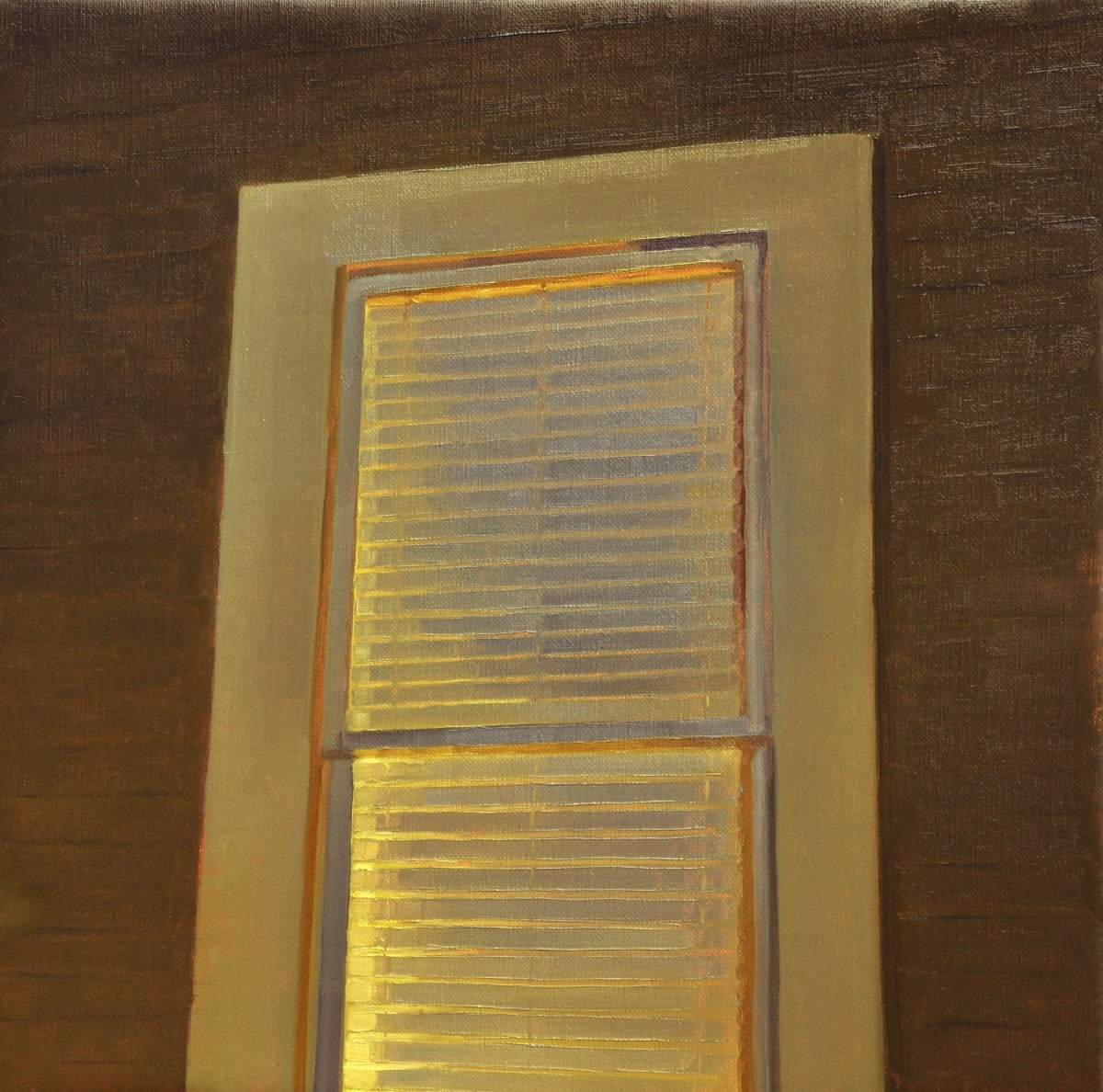 Maeve McCarthy Nightblind Oil on canvas 40 x 40 cm