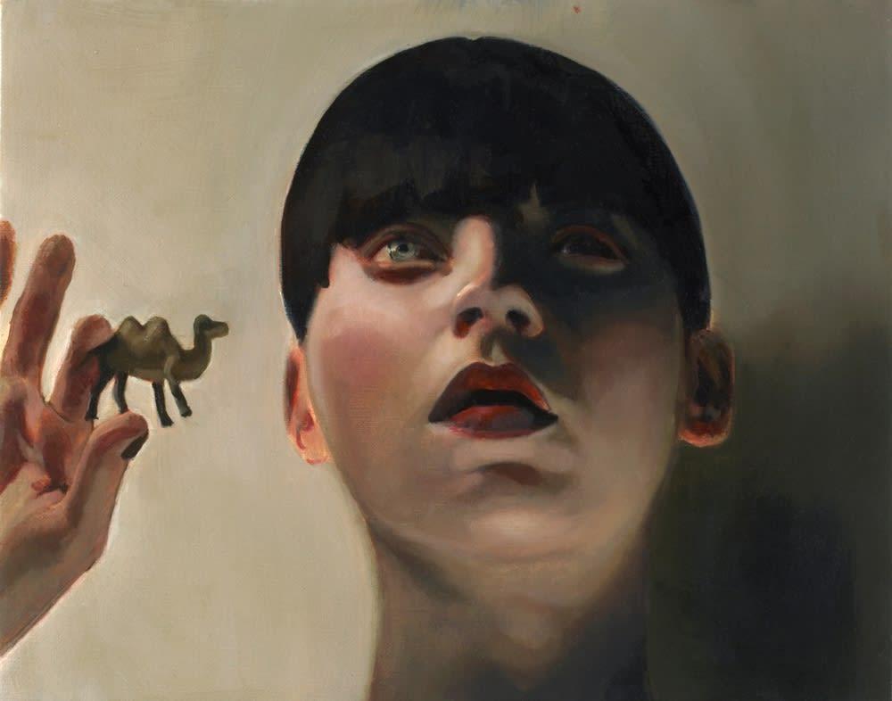 Mercedes Helnwein Alexei Oil on canvas 28 x 35 cm