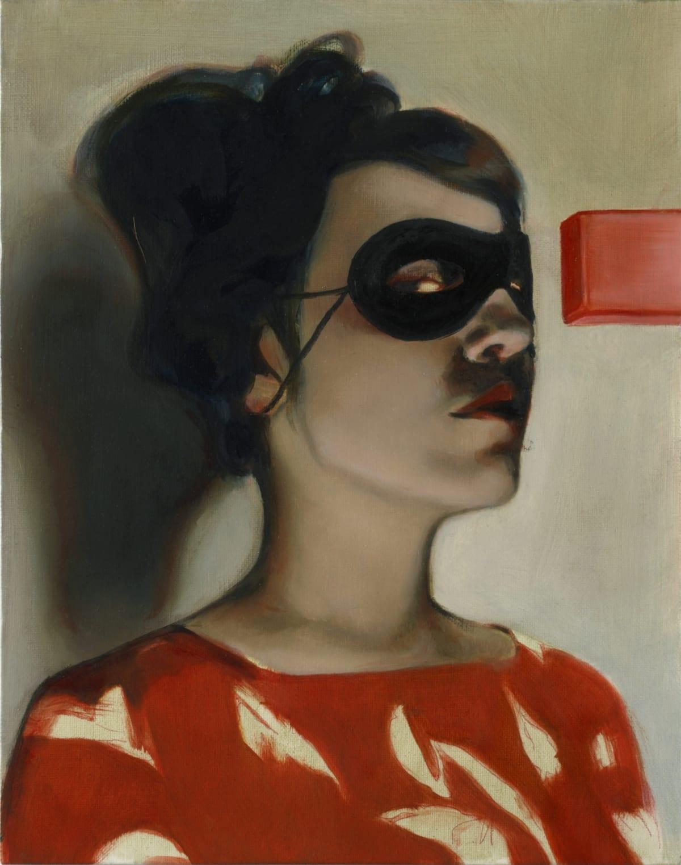 Mercedes Helnwein Pam Oil on canvas 35 x 28 cm