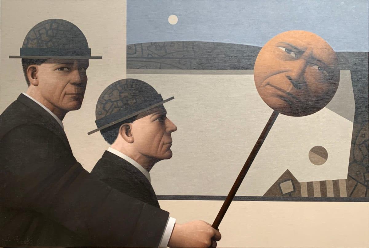 John Boyd Ignis fatuus Oil on canvas 50 x 75 cm