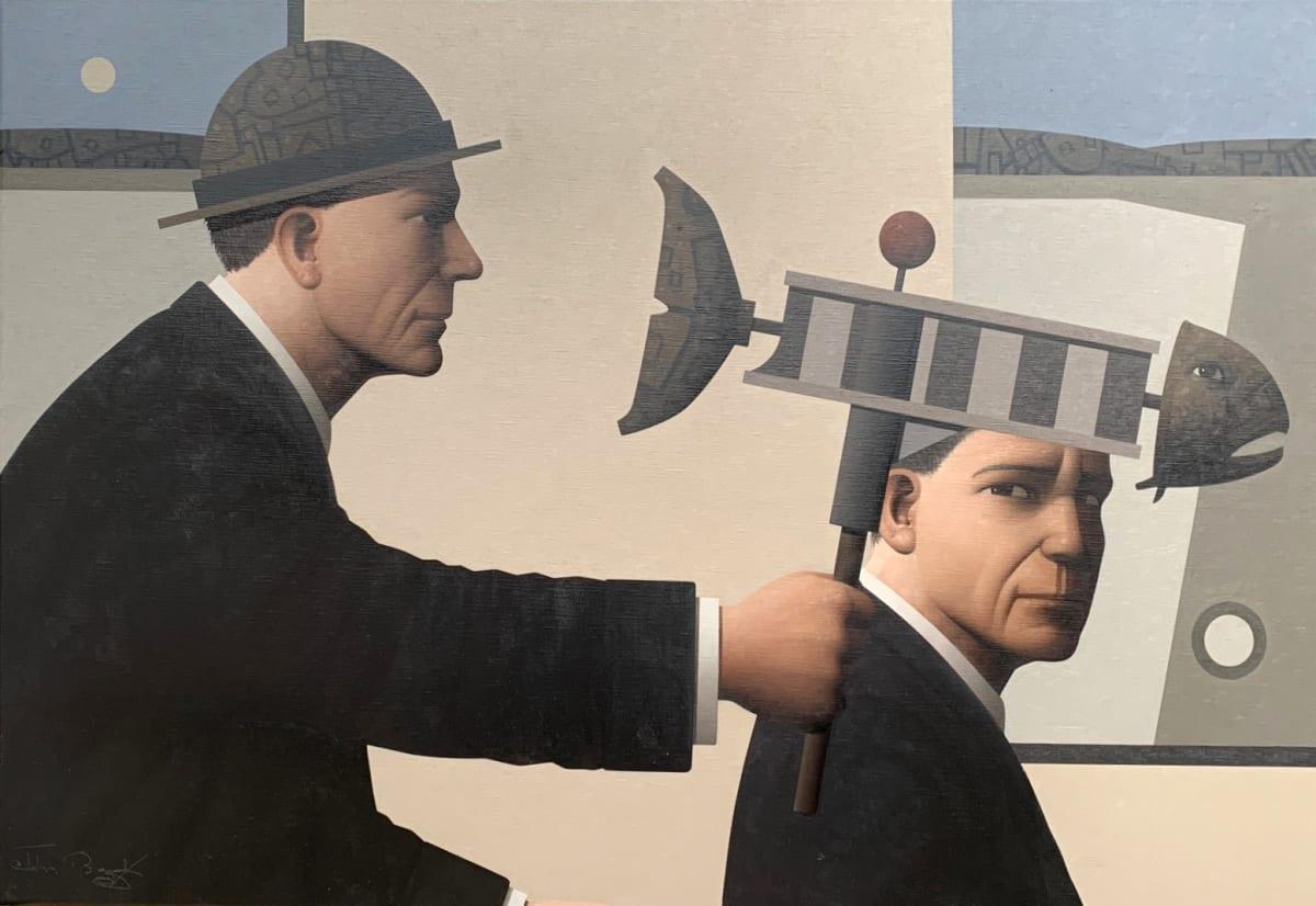 John Boyd Narrative device Oil on canvas 50 x 75 cm