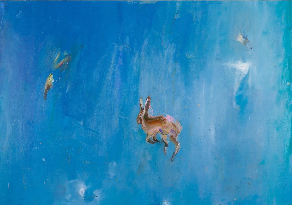Gabhann Dunne Portal Oil on gesso panel 70 x 100 cm