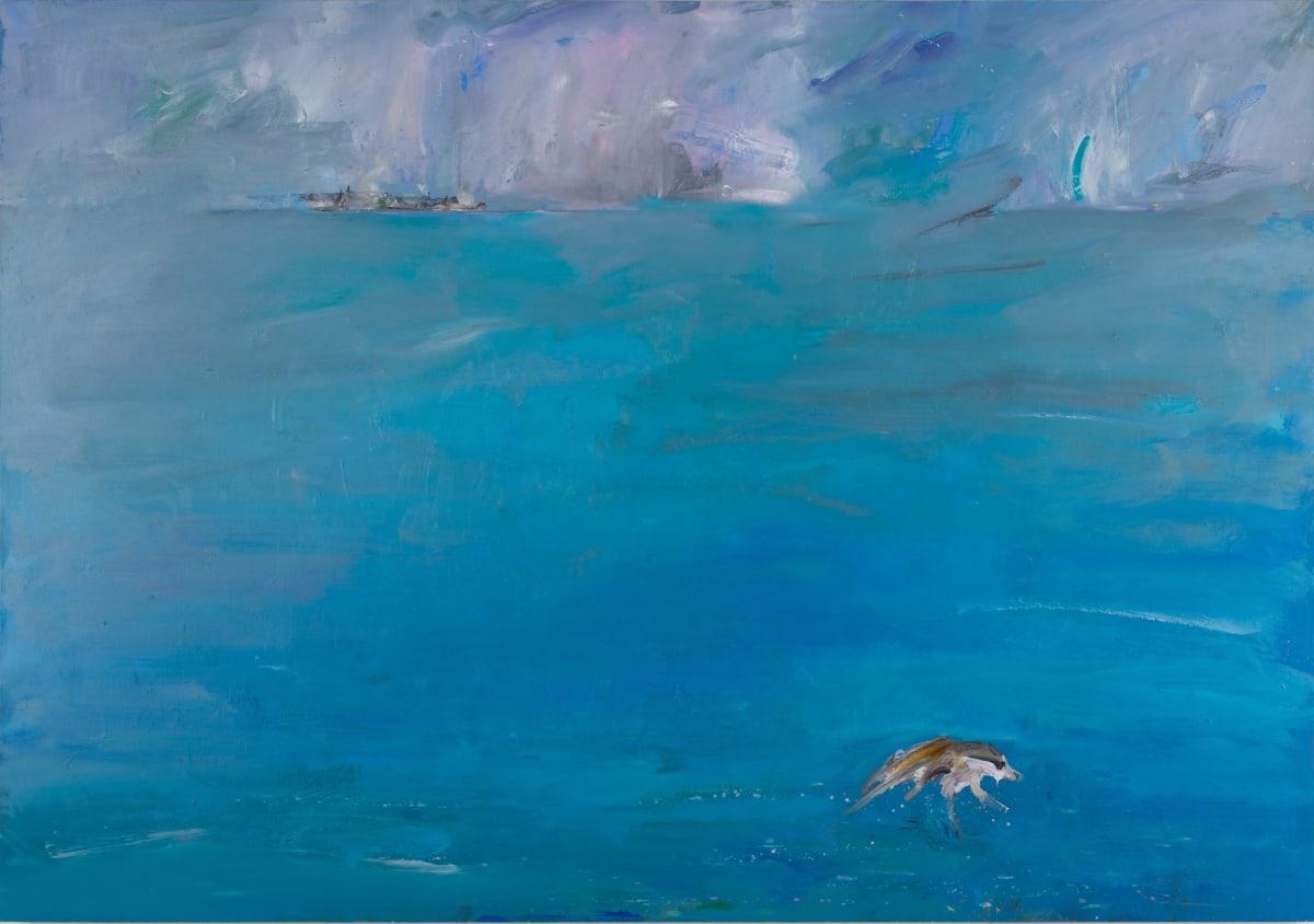 Gabhann Dunne Station Island Oil on gesso panel 70 x 100 cm