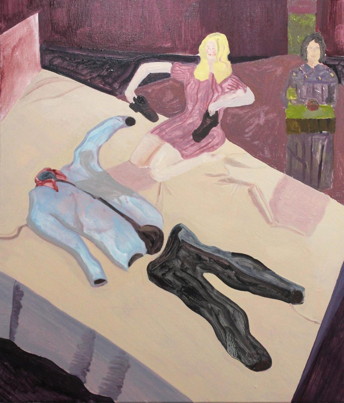 Oscar Fouz Lopez Scape Oil on canvas 70 x 60 cm