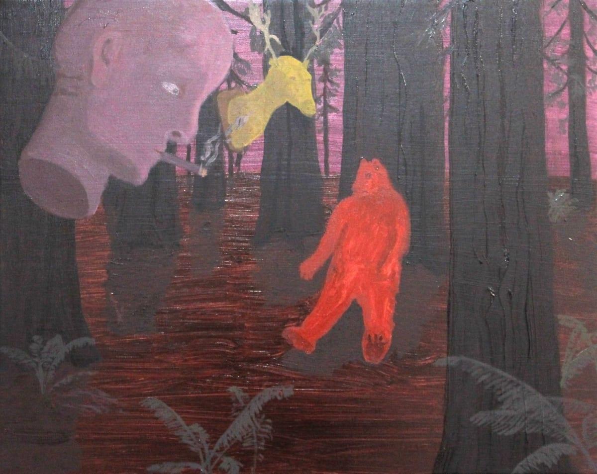 Oscar Fouz Lopez Vision Oil on canvas 40 x 50 cm