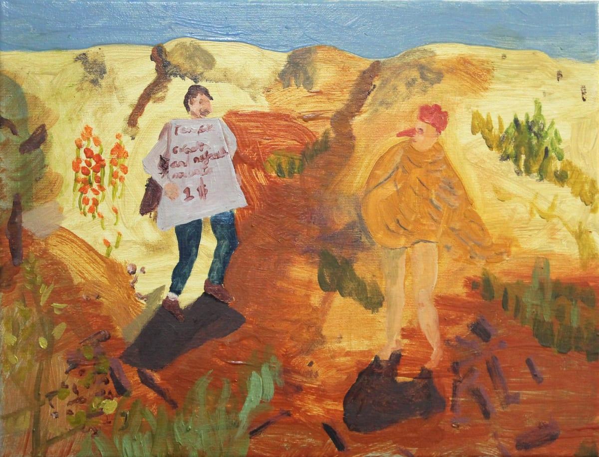 Oscar Fouz Lopez Untitled Oil on canvas 30 x 40 cm