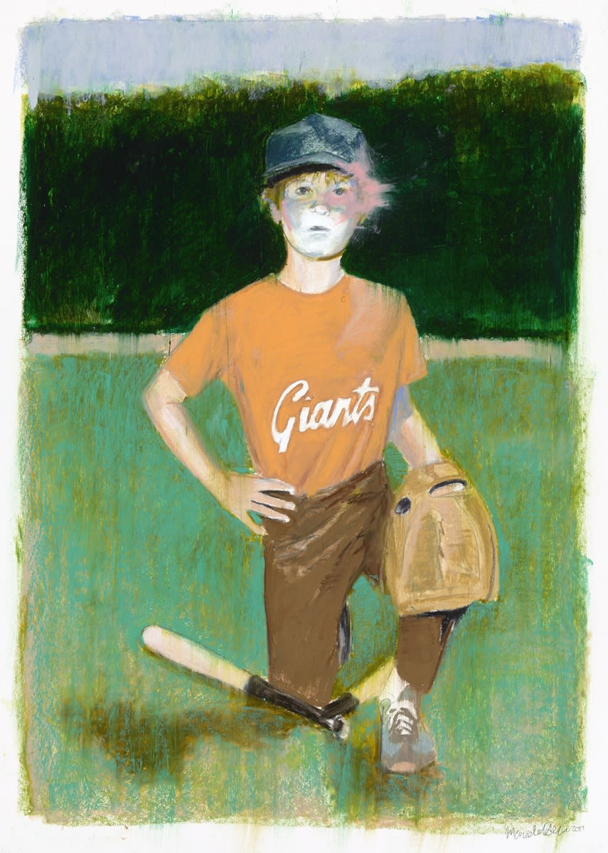 Mercedes Helnwein, Baseball kid, 2018