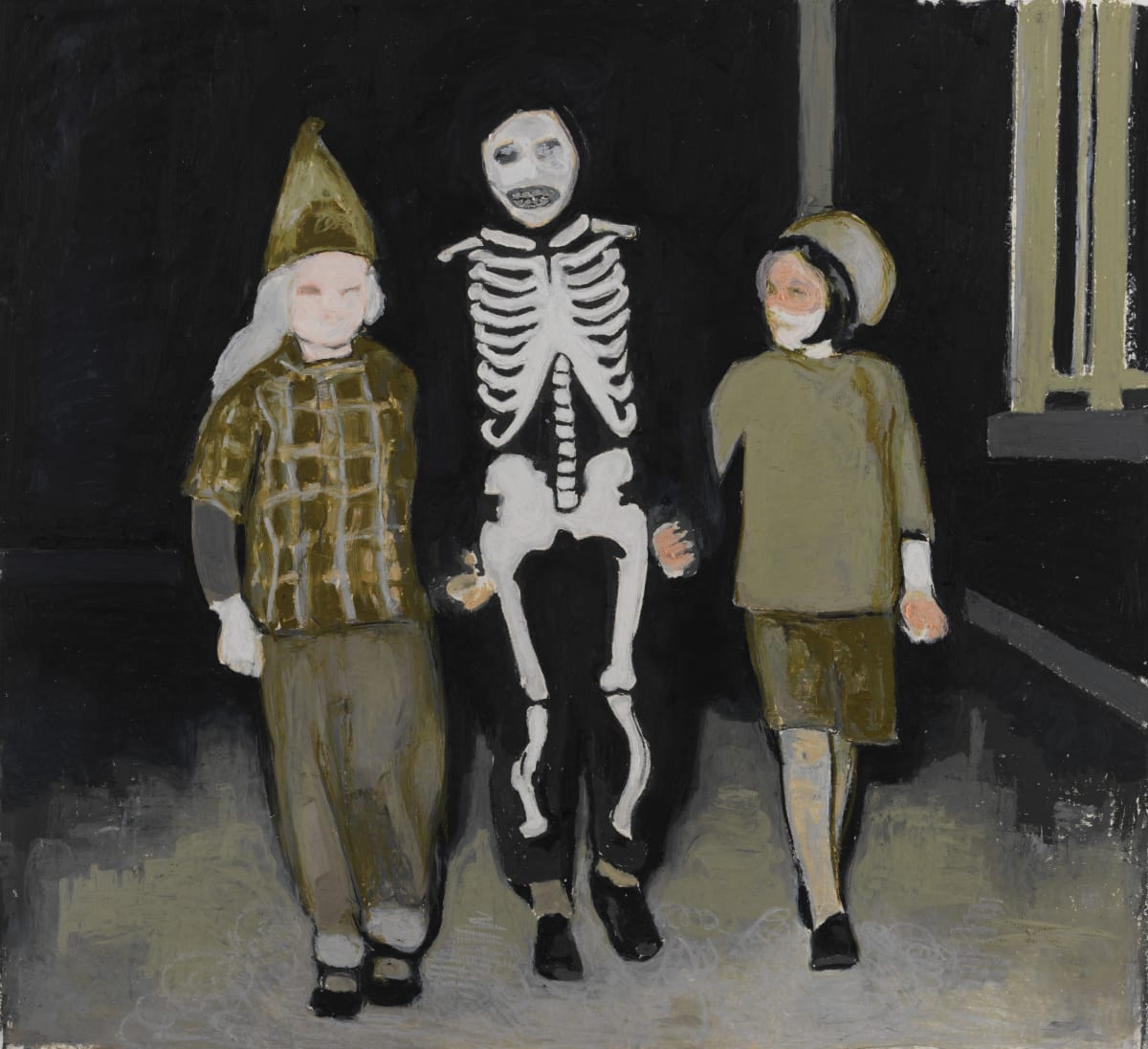 Mercedes Helnwein, Skelelton kid, 2015