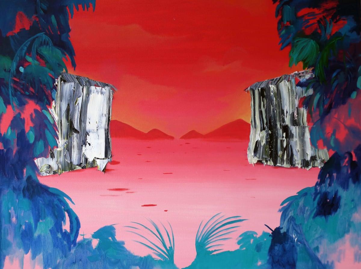 Jane Rainey Journey Oil on canvas 90 x 120 cm