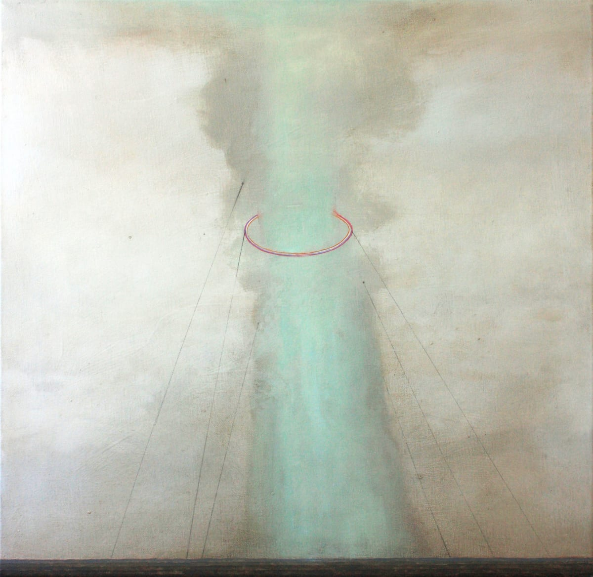 Gillian Lawler Vent Oil on canvas 60 x 60cm