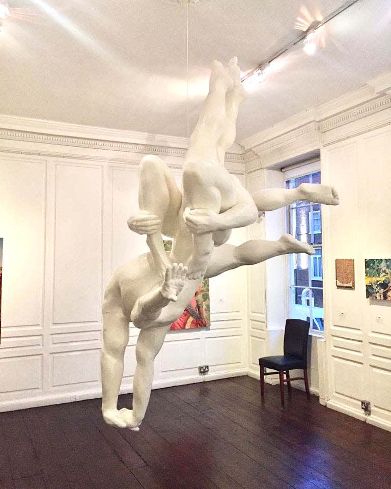 Vera Klute Plunge Carved polyurethane foam 250 x 150 x 150 cm