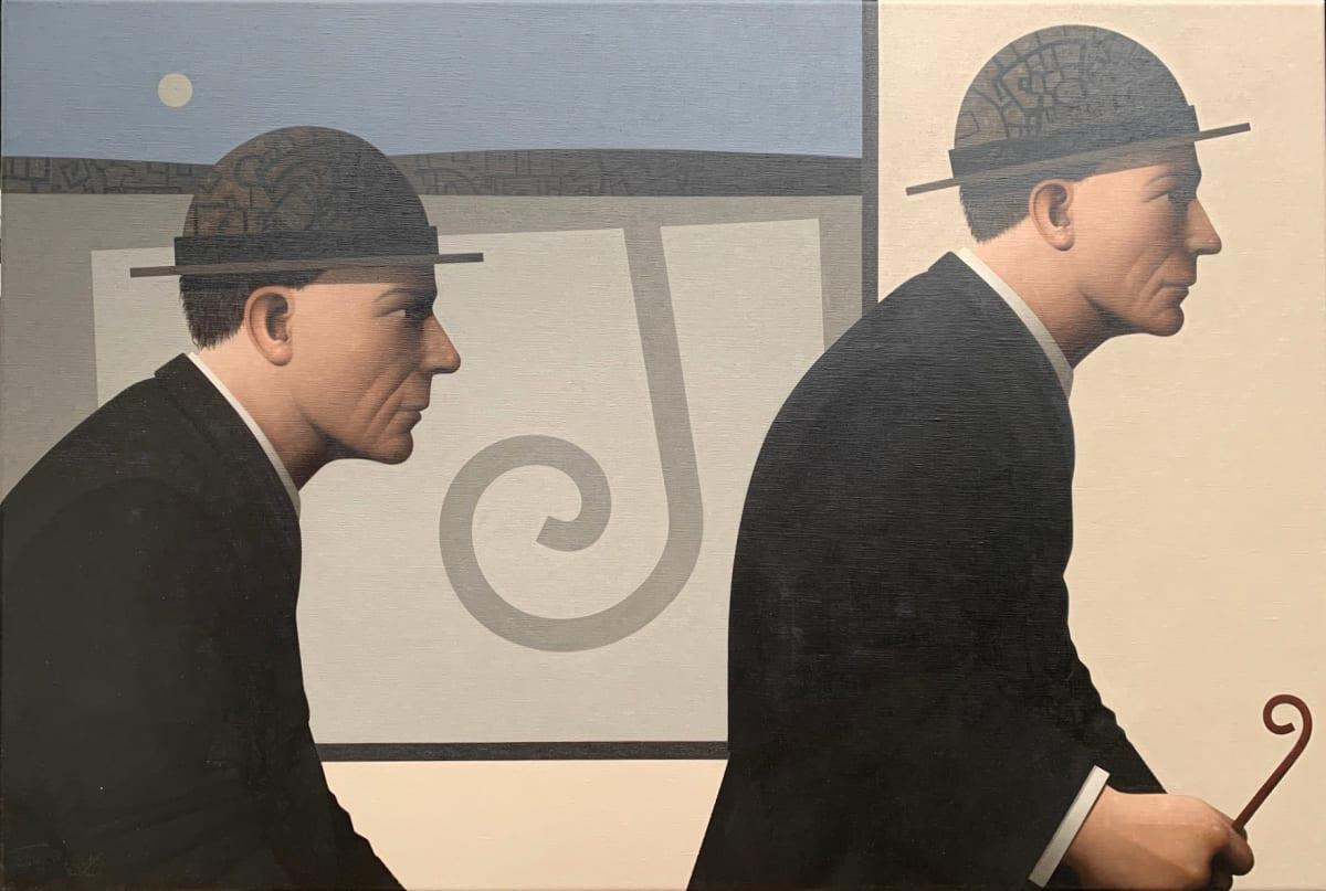 John Boyd Passing likeness Oil on canvas 50 x 75 cm