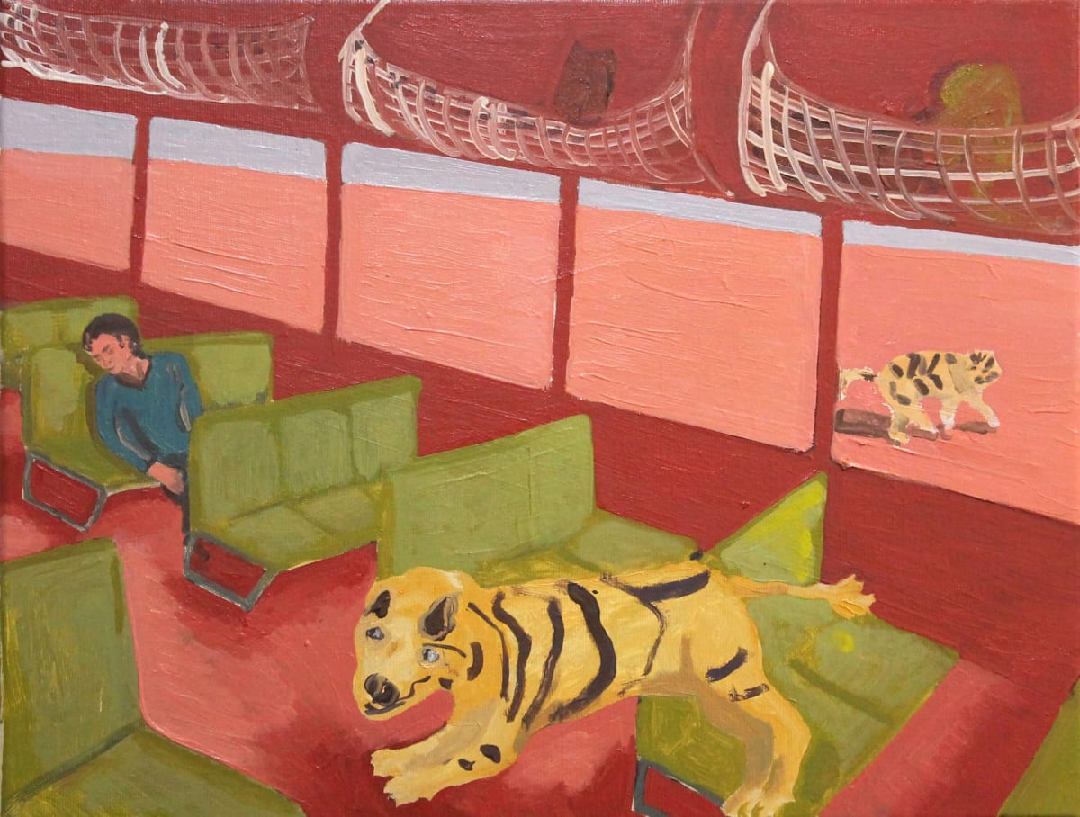 Oscar Fouz Lopez Wild dreams Oil on canvas 36 x 46 cm