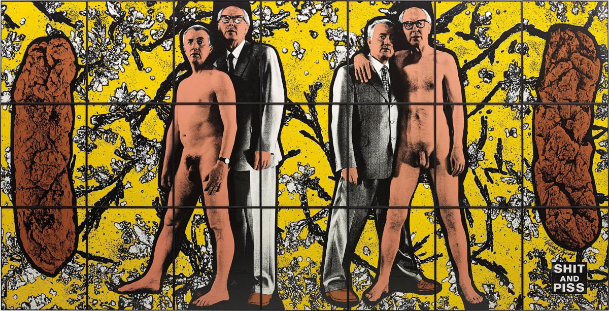 GILBERT & GEORGE Shit and Piss, 1996