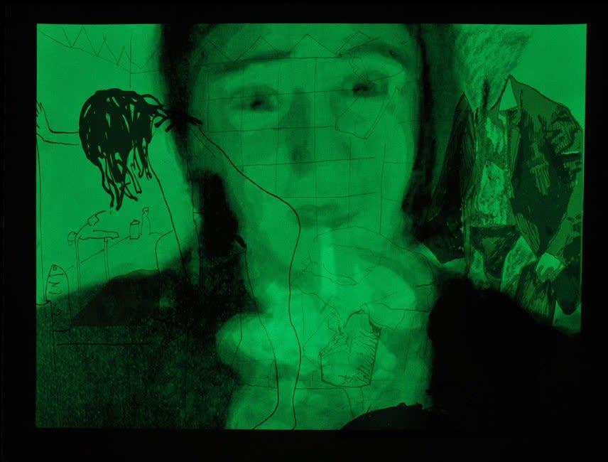Jonathan DELACHAUX Un jour avec Naïma, 2014 Night view