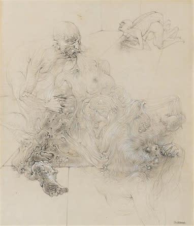 Hans BELLMER Pour Sade III, 1930