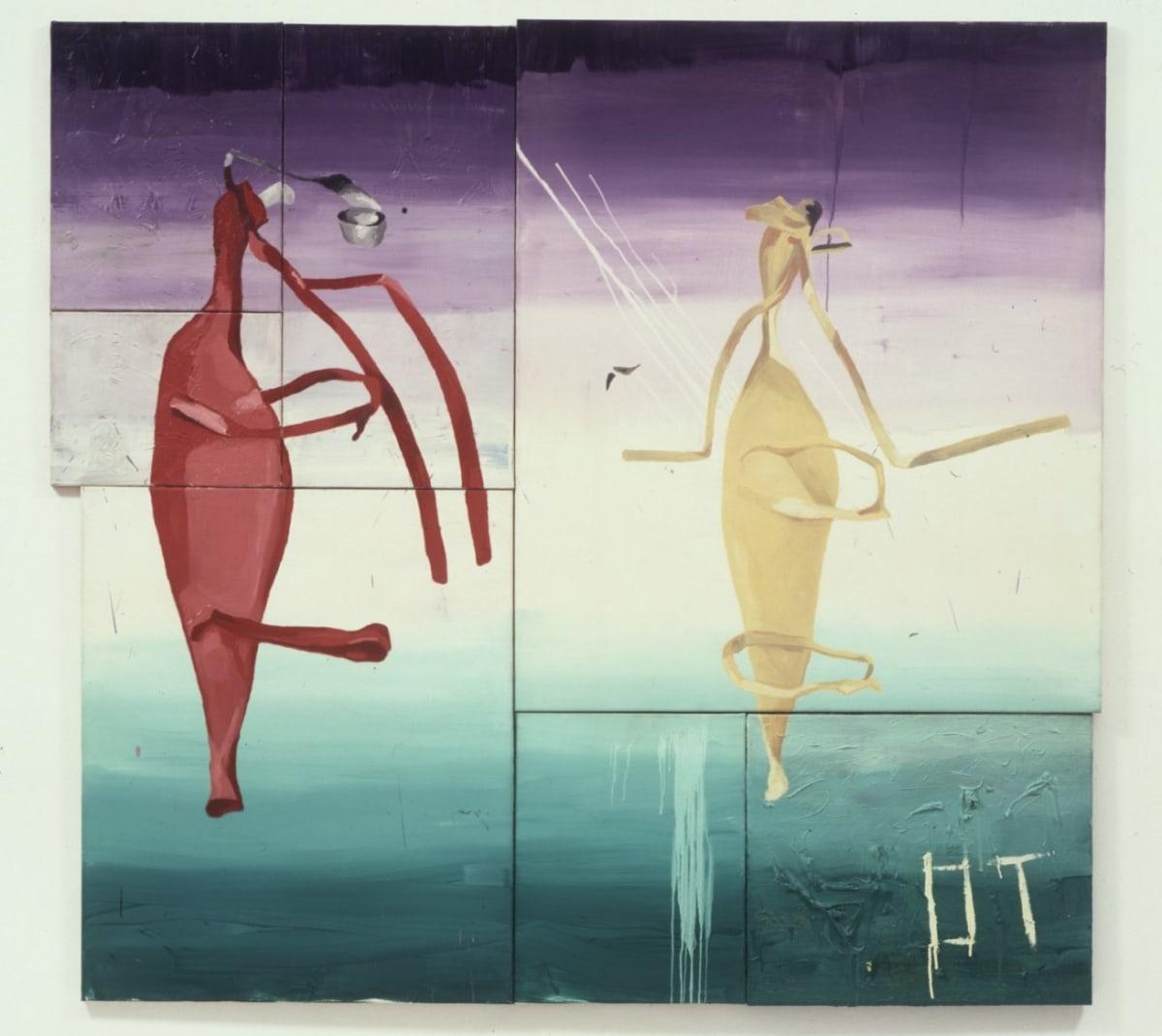 Martin KIPPENBERGER Untitled (Floating Figures),1982
