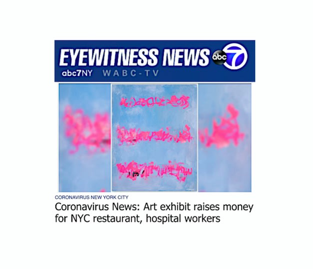 Coronavirus News: Art exhibit raises money for NYC restaurant, hospital workers