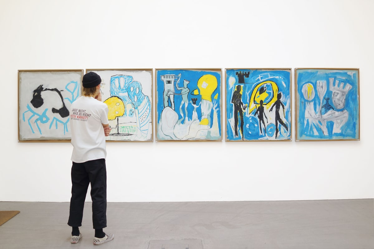 Ernst Koslitsch at Raum mit Licht Gallery