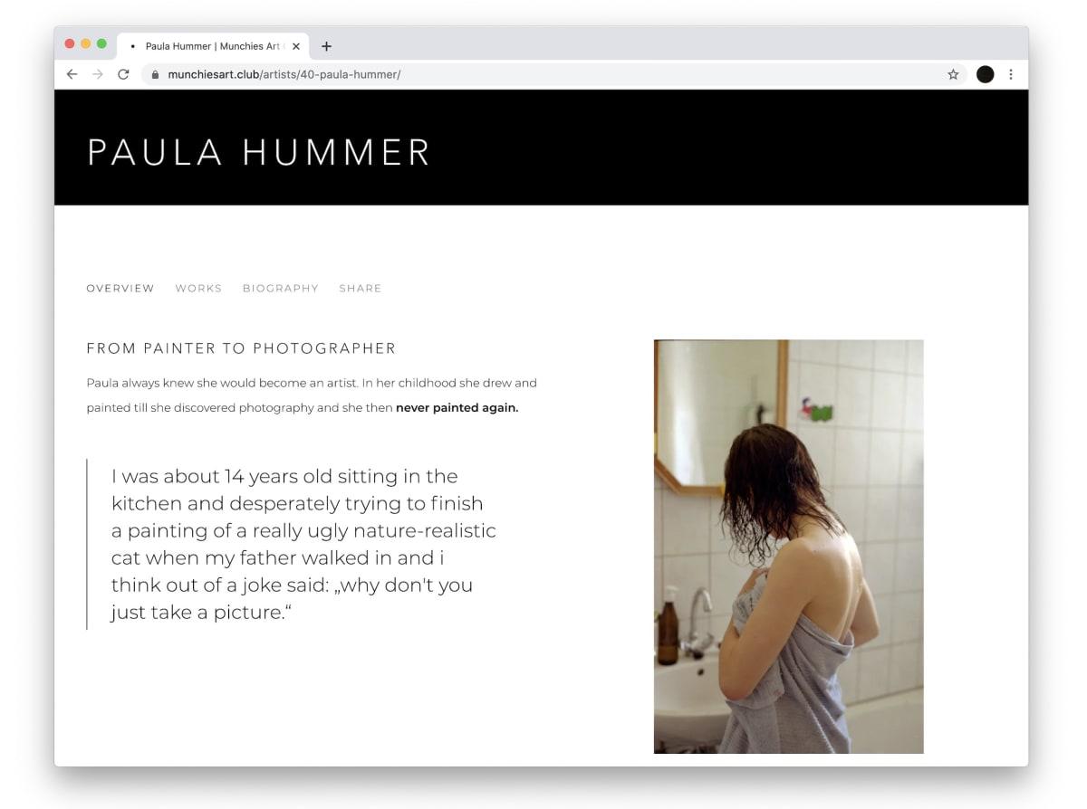 Paula Hummer joins our Art Club