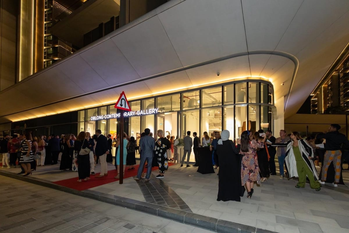 'The Nascence' marks the opening of Oblong in Dubai