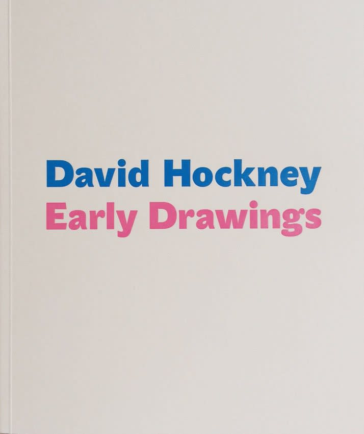 David Hockney, Early Drawings