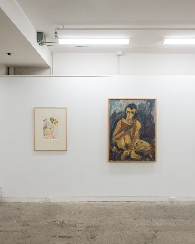 Woollaston Portraits 2017 Installation 6